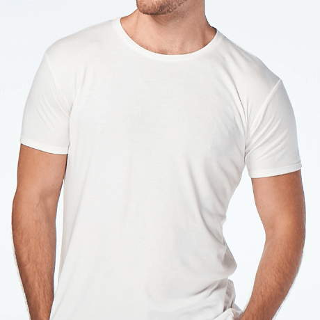 Crewneck White T-shirt from CJA