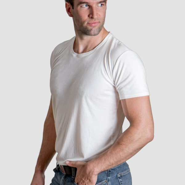 Manhattan undershirt in white
